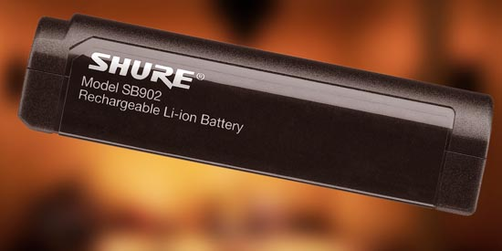 Going Green with Improved Performance: Shure Lithium-Ion Batteries