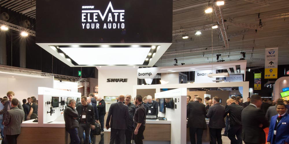 Shure @ ISE 2018