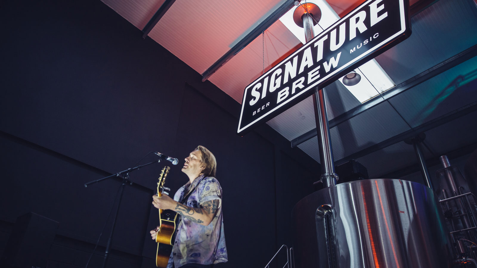 Keeping the Music Alive - Shure Friends, Signature Brew Are Fighting the Good Fight
