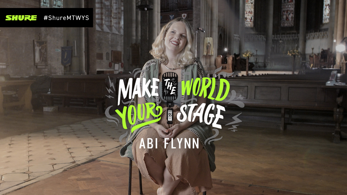 Make The World Your Stage: Abi Flynn with 'Get Deep'
