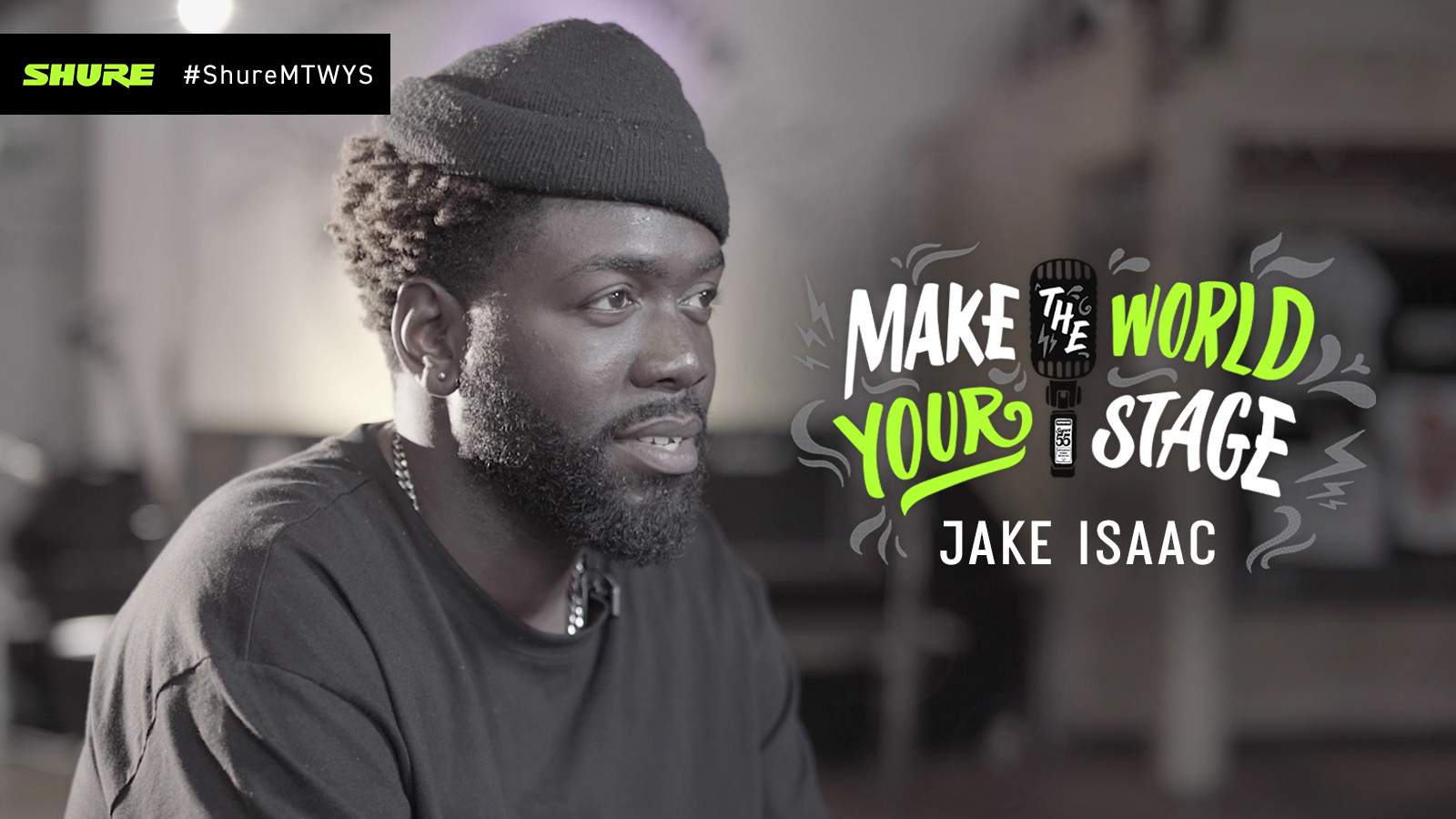 Make The World Your Stage: Jake Isaac with 'Brother'
