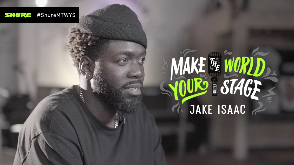Make The World Your Stage with Jake Isaac