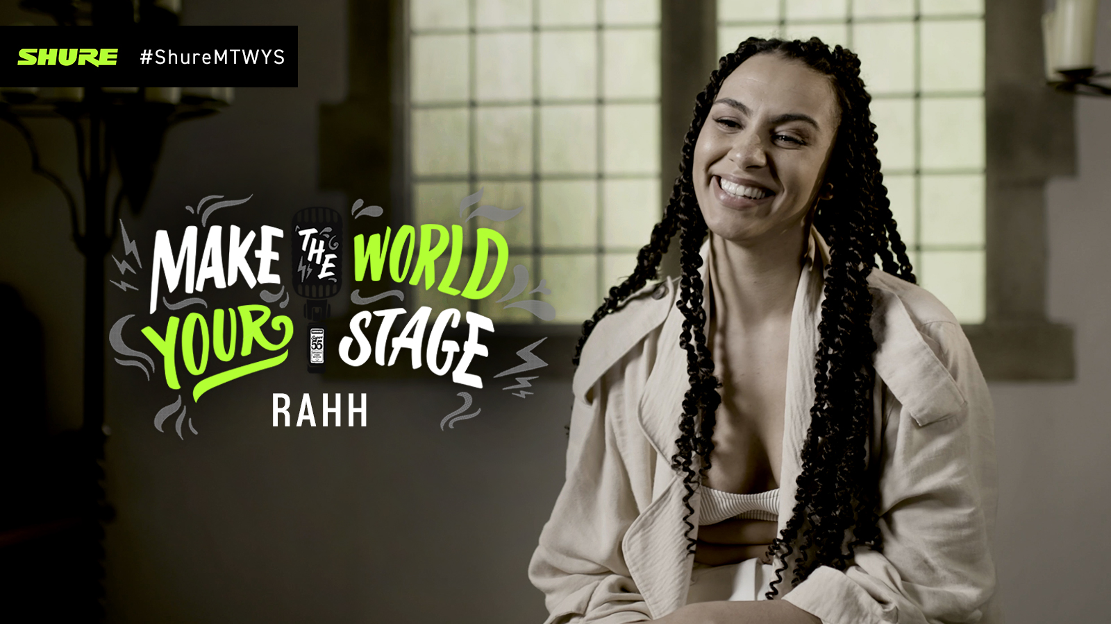 Make The World Your Stage: RAHH with 'Okay'