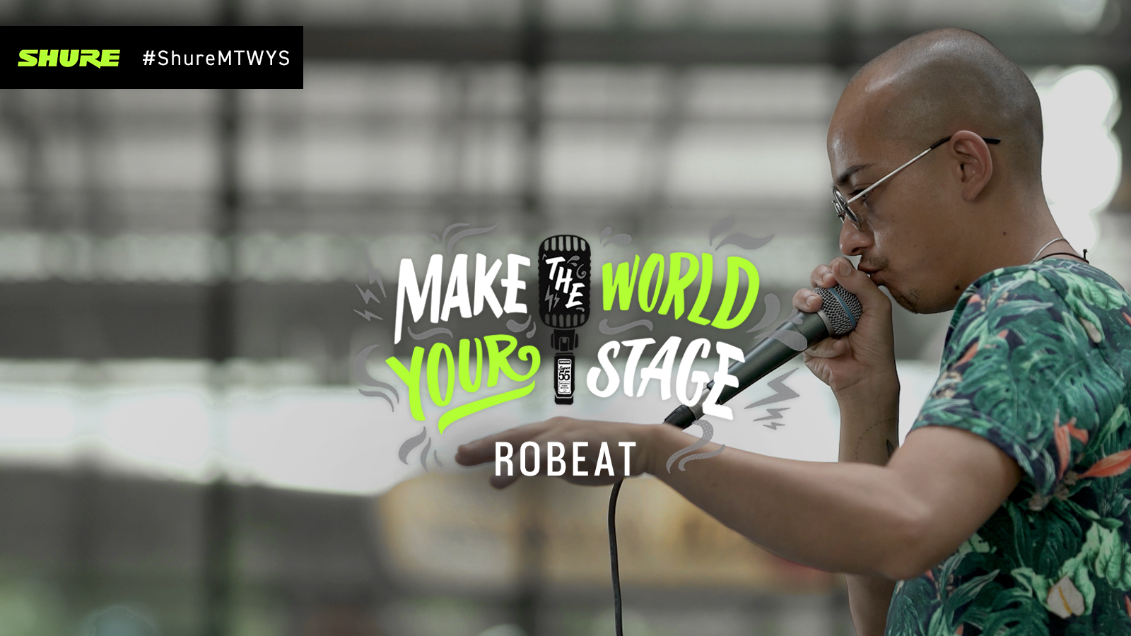 Make The World Your Stage: Robeat with 'Decisions'
