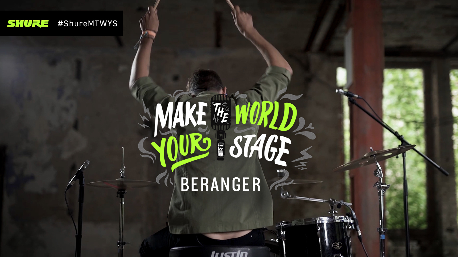 Make The World Your Stage: Beranger with 'Slipping Under'