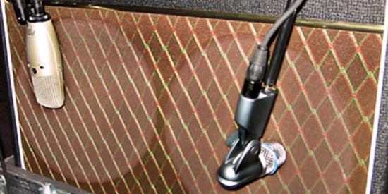 Miking Guitar Amps: Tips from Sound Pro John Mills