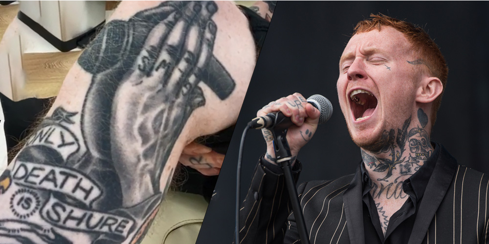 Till Death Do Us Part: Frank Carter's Inked Tribute to the SM58