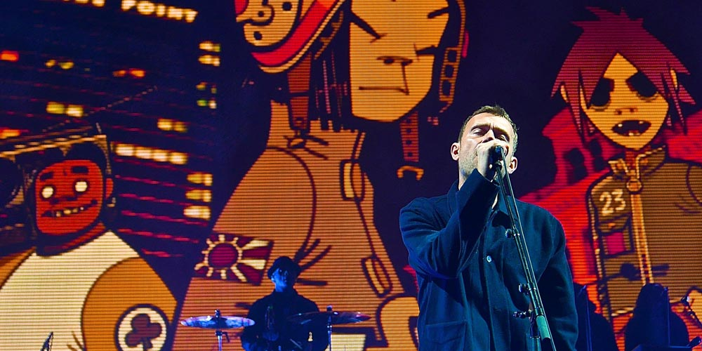 Shure's Flagship Wireless System Axient Digital used on Gorillaz' Humanz World Tour