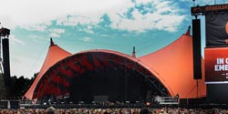 Shure Axient Digital in use on the mainstage of Roskilde Festival