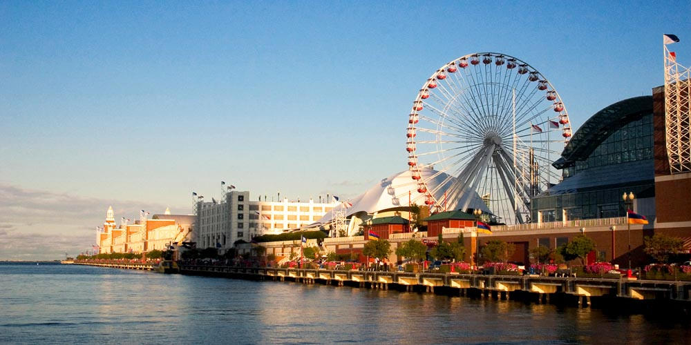 Chicago's Navy Pier Overcomes RF Challenges with Shure ULX-D® Wireless