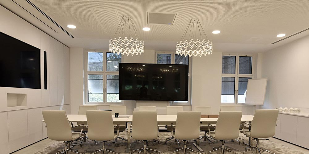 Clifford Chance Invests In Shure Ceiling Microphone Array