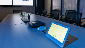 Photo from the AO Achimgaz meeting room (provided by Open Vision)