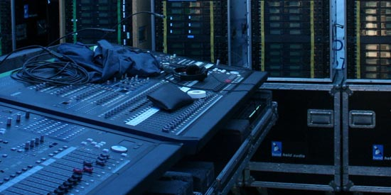 160 Channels of Shure Wireless Microphones used for T-Mobile Flash Mob