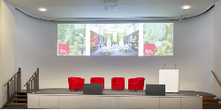 The Royal Society selects Shure Microflex® Advance™ MXA910 and Microflex® Complete Wireless for London HQ