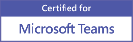 Certified for Microsoft Teams