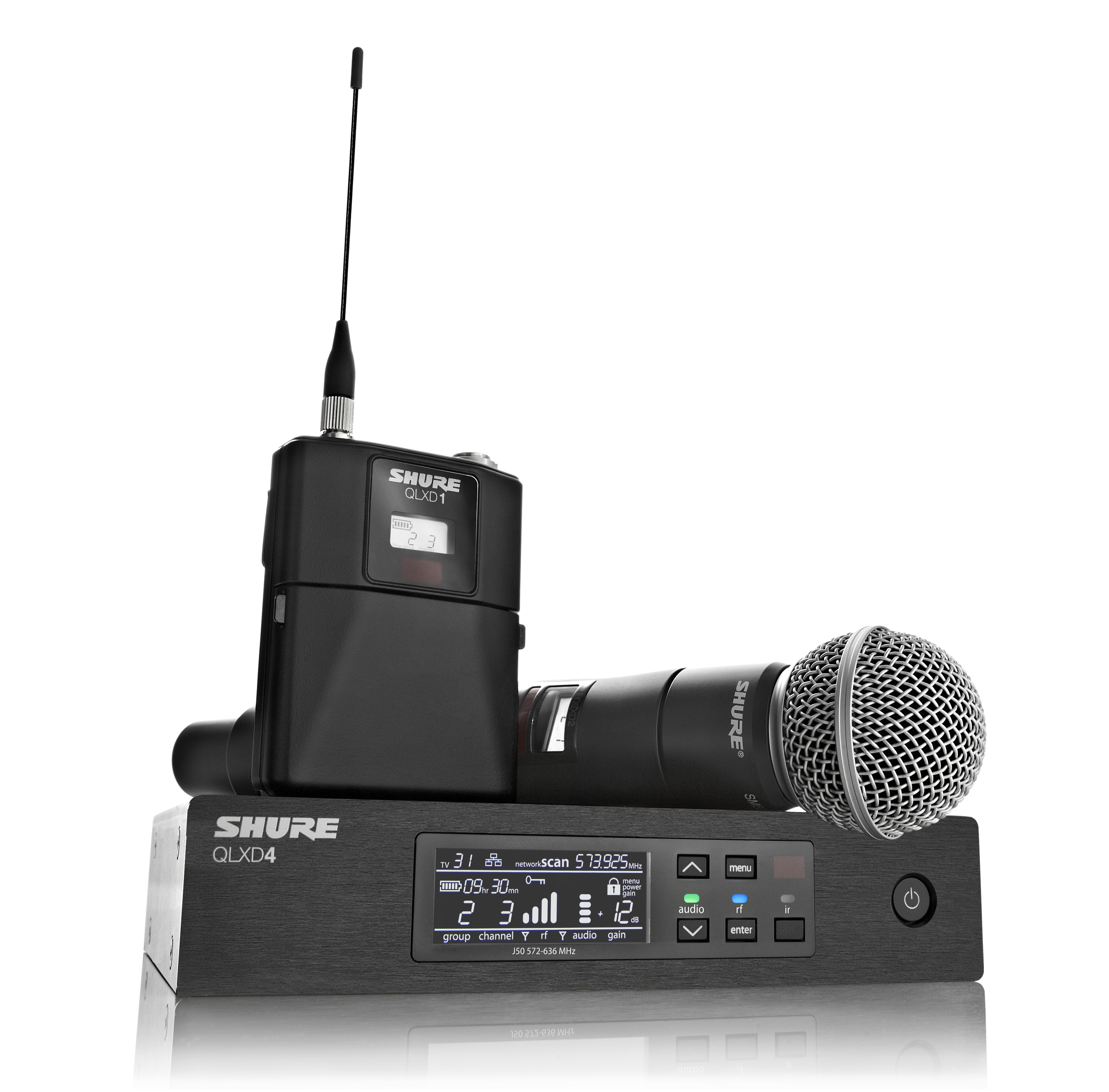 QLX-D Digital Wireless Microphone System