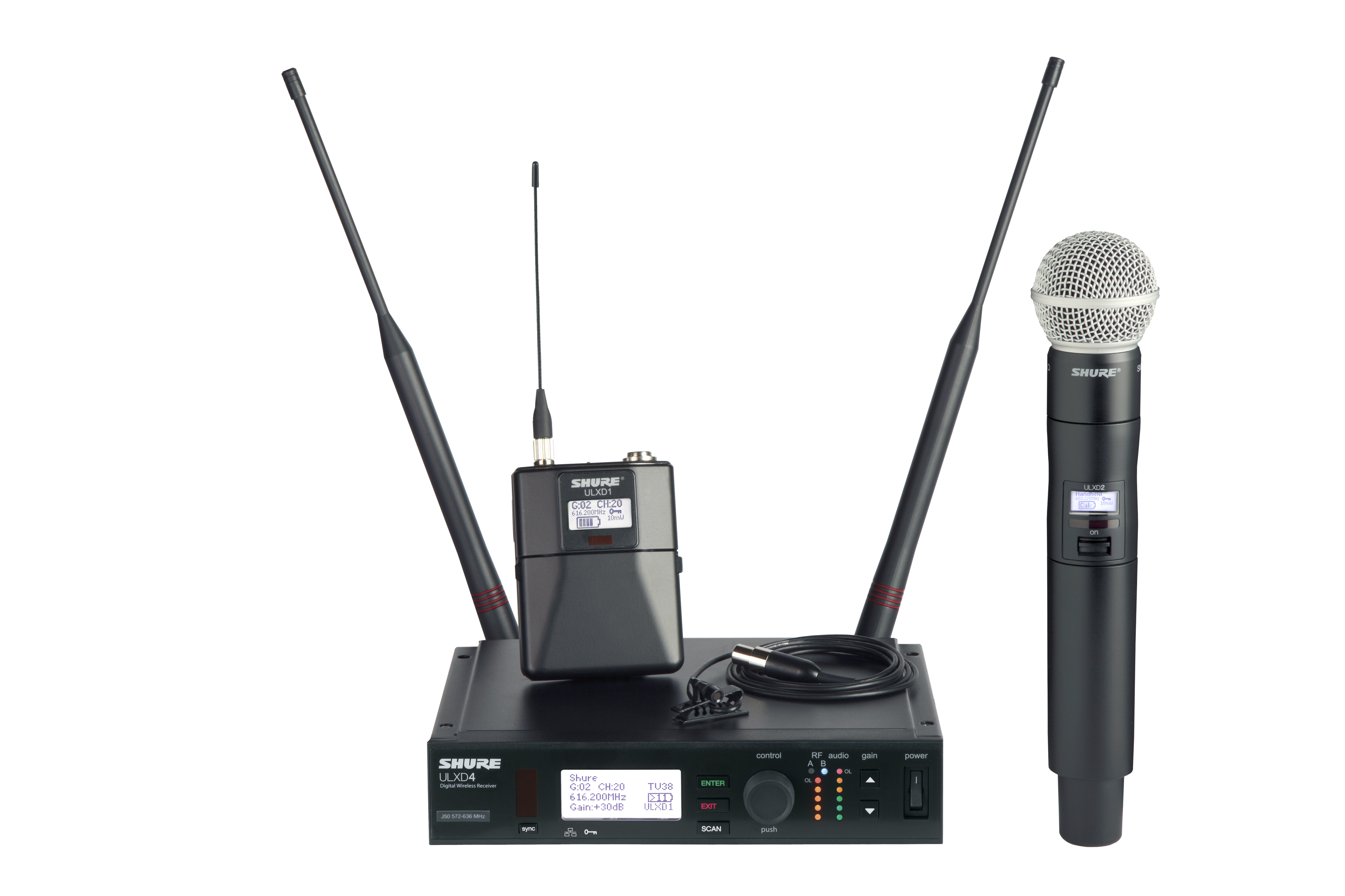 ULX-D Digital Wireless Microphone System
