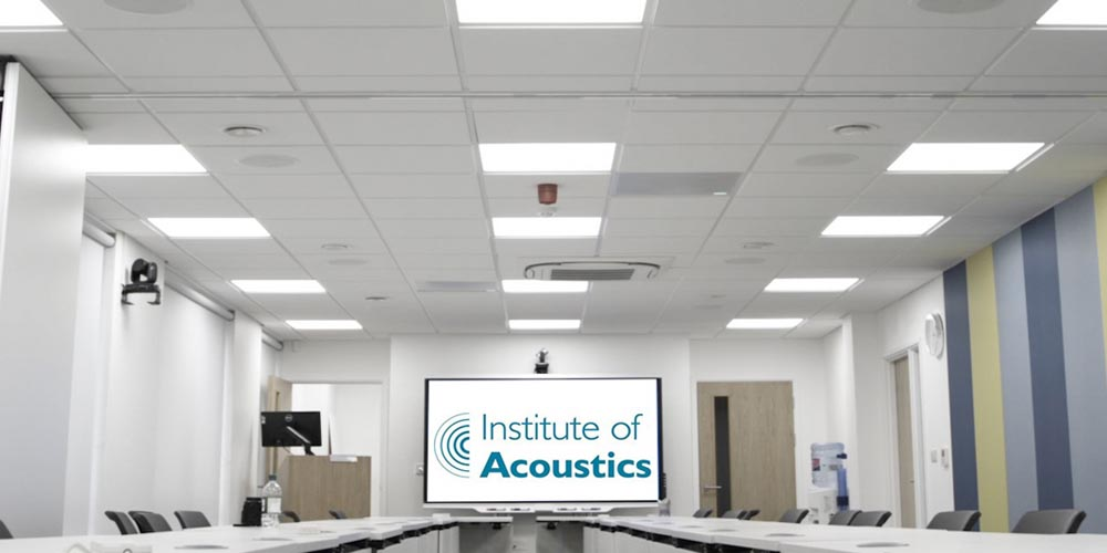 Institute of Acoustics Chooses Shure Microflex® Advance™ MXA910 Mics for Voice Lift at HQ