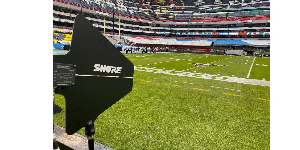 Pro Football Game In Mexico City Relies On Shure To Help Provide Quality Audio For National TV