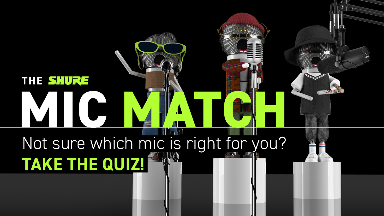 Shure Teams Up With Artists Jacob Collier, Amber Liu, And Others To Help Aspiring Musicians Elevate Their Voices With Mic Match Quiz