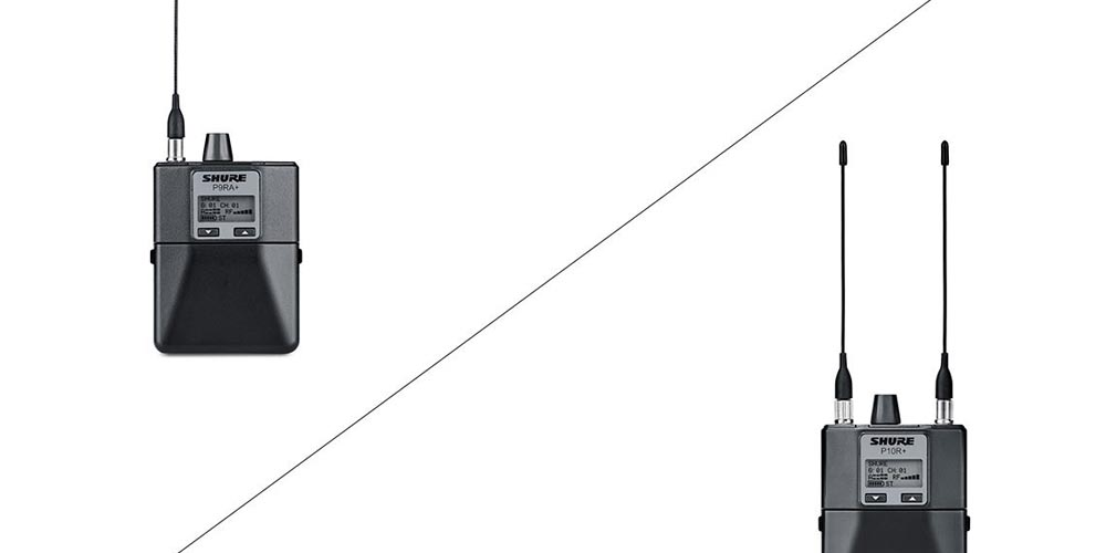 Shure upgrades bodypack receivers for PSM 900 and PSM 1000